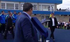 El presidente Mauricio Macri presencia la inauguracion del predio de Boca Jrs