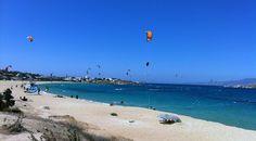 Naxos - Mikri Vigla Beach  by www.naxos-tours.gr
