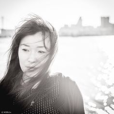 #portrait #leicam9 #leica #girl #monochrome #sunset #sea #autumn