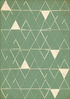 Lindsey Berggren Triangle pattern design