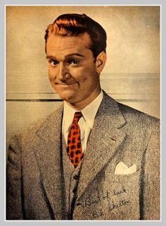 1943 Red Skelton. Loved watching him as a child...such talent.