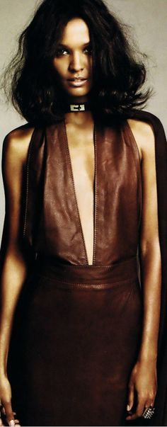 Liya Kebede gracing the editorial of Marie Claire US Only Fashion, Brown Fashion, Leather Fashion, Model Pictures, Fashion Pictures, Art Pictures, Black Girls Rock, Black Girl Magic, Fatima Siad