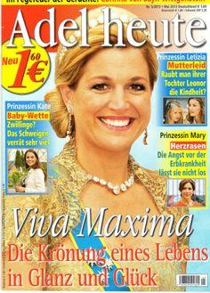 2013: Königin Maxima von Holland