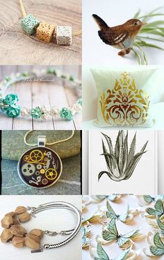 Mint Gifts by Ilona on Etsy--Pinned+with+TreasuryPin.com