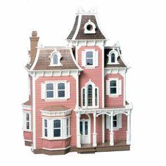 Greenleaf Beacon Hill Dollhouse Kit - 1 Inch Scale - Dollhouse Kits at Hayneedle
