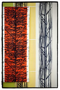 Lucienne Day textile - Larch