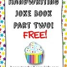 More corny jokes are headed your way! Your students can complete this new set of handwriting practice pages featuring kid-approved humor or they ca...