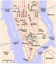 schema strade NYC