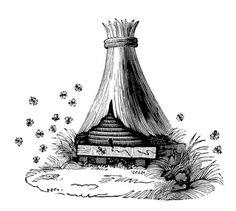 Vintage Beehives