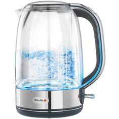 Breville Crystal Clear Vattenkokare i glas Liter Kitchen Worktop, Kitchen Appliances, Cord Storage, Glass Jug, Kitchen Hacks, Kitchen Stuff, Cold Drinks, Minimalist Design, John Lewis