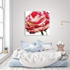 Discover «Rose 1», Exclusive Edition Canvas Print by Katia Maria Aguiar Fernandes - From $59 - Curioos