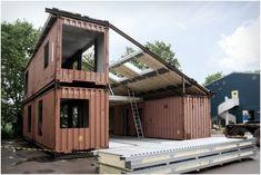 Kuća napravljena od kontejnera