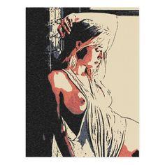 Sexy girl posing, erotic nude, side boob shirt postcard #Sexy #girl posing, #erotic #nude, side #boob shirt #postcard #kinky #woman #naked #cards @zazzle