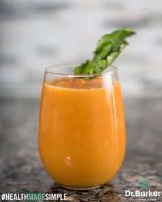 """191 Likes, 8 Comments - Dr. Chris Barker (@drchrisbarker) on Instagram: """"Whipped up my pumpkin detox smoothie 🎃  Head over to www.drchrisbarker.com for my recipe and my…"""""""