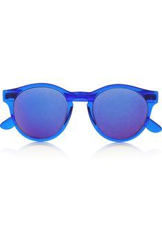 be1c18a9d2c7 Le Specs - Hey Macarena round-frame acetate sunglasses