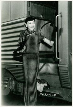 Anna May Wong... She starred in a detective series that was written specifically for her,  The Gallery of Madame Liu-Tsong, in which she played the title role which used her birth name. Wong's character was a dealer in Chinese art whose career involved her in detective work and international intrigue. There were ten half-hour episodes aired.  Although there were plans for a second season, DuMont canceled the show in 1952. No copies of the show or its scripts are known to exist 1