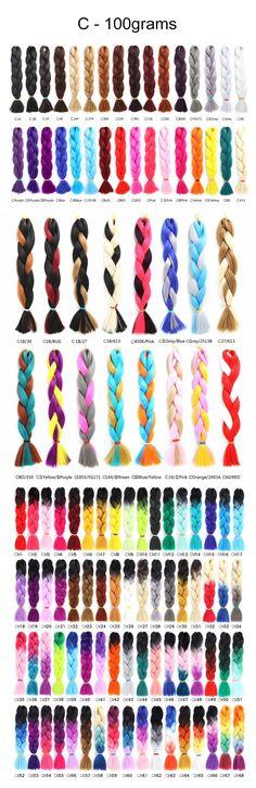 Stock C style 100G jumbo braid Synthetic Hair Extensions, Synthetic Wigs, Marley Braids, Jumbo Braids, Faux Locs, Hair Weft, Hair Clips, Crochet, Style