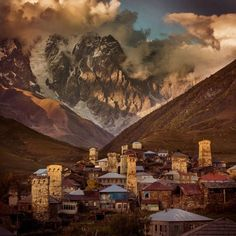 Svaneti, Georgia / A region in north-west Georgia known for its architectural treasures and picturesque landscapes. It's also part of the UNESCO World Heritage list. http://www.gotravelyourway.com/2013/11/12/8-reasons-to-travel-to-georgia-and-tbilisi/#.VLe7rXuHj4Y