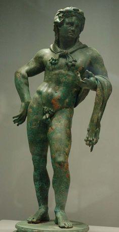 Greek and Roman Sculptures Hercules in bronze