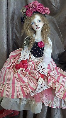 """Connie Lowe ONE OF A KIND Dolls Town Hyun Large Ball Jointed Doll BJD rare! 23"""""""