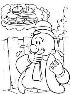 10 Cute Popeye Coloring Pages For Your Little Ones  Coloring