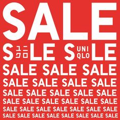 SALE SEASON STARTS NOW! Visit the UNIQLO SM CITY SAN LAZARO at the Upper Ground Floor near the Event Center to check out their markdown items!