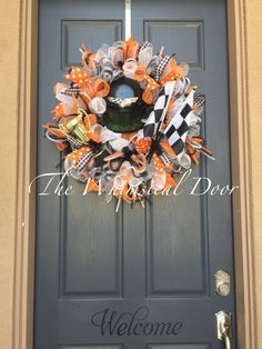 Nascar wreath racing wreath indy 500 wreath by TheWhimsicalDoor Sports Wreaths, Nascar, Indie, Racing, Halloween, Fall, Unique Jewelry, Handmade Gifts, Vintage