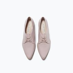 Image 5 of LACE-UP BLUCHER from Zara