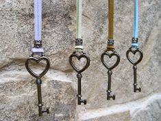 Skeleton Heart Key Necklace Suede Leather Cord Necklace Key To Your Heart Necklace Open My Heart Medallion Cute Gift NINE COLORS OFFERED