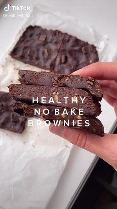 Healthy Deserts, Healthy Sweets, Healthy Dessert Recipes, Healthy Baking, Baking Recipes, Healthy Snacks, Vegan Recipes, Snack Recipes, Low Calorie Desserts