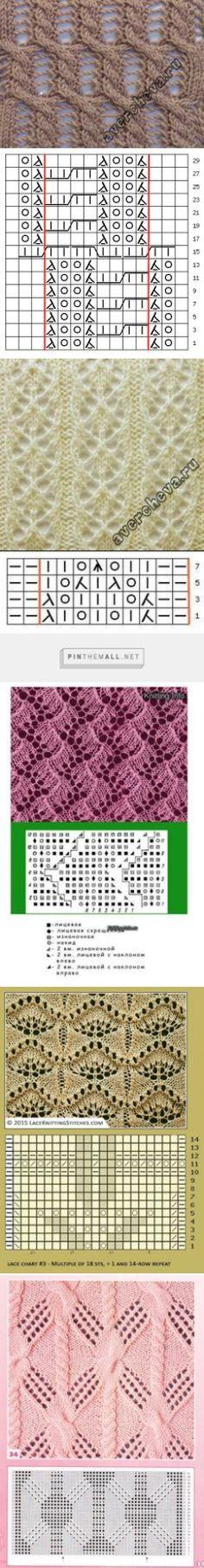 446 mejores imágenes de Tejidos | Knitting patterns, Crochet ...