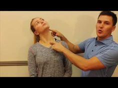 S C M (Sternocleidomastoid muscle) Stretch - YouTube