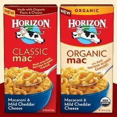 Horizon Macaroni & Cheese $0.15 or Horizon #Organic Macaroni & Cheese $0.40 at #Meijer with #Coupon!  http://killinitwithcoupons.com/blog/?p=2032