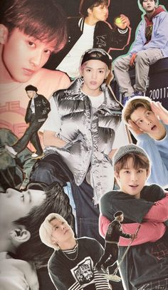 Nct 127, Kim Jung Woo, Kpop Posters, Nct Life, Mark Nct, Retro Wallpaper, Nct Taeyong, Kpop Aesthetic, K Idols