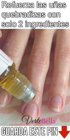 88d4d572d4 Refuerza las uñas quebradizas con solo 2 ingredientes Cabello Y Uñas