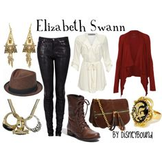 """""""Elizabeth Swann (Pirates of the Caribbean)"""" by lalakay on Polyvore"""