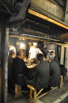 https://flic.kr/p/bnScEr   Omoide Yokocho   Sasamoto Yakitori, we didn't stick out here at all!