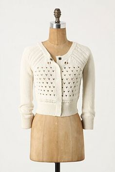 anthropologie hearts desire cardigan (another great bridesmaid sweater!)