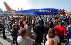 "Southwest Airlines Shows New Aircraft Livery, ""Heart One"""