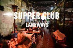 Gerry's Kitchen : Laneways Supper Club Launch, Thursday 30th June 20...