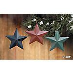 I love these barn star ornaments!