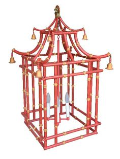 Pagoda Chandelier from The Well Appointed House