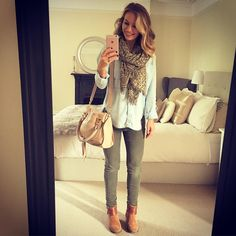 The lovely - adore her style ❤ Outfit Jeans, Anna Saccone Joly, Saccone Jolys, Fall Winter Outfits, Autumn Winter Fashion, Top Jean, Work Fashion, Dress Me Up, Her Style