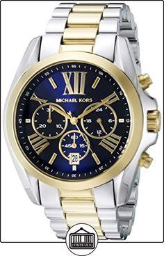 Reloj Michael Kors Bradshaw Mk5976 Hombre Azul de  ✿ Relojes para hombre - (Gama media/alta) ✿