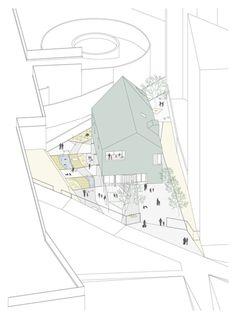 """Andrea Trucillo, Michele Alberti, BLULAB_building landscape urbanism · + Ludoteca """"Padiglione Infanzia"""""""