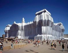 Christo's 'Wrapped' Reichstag  in Berlin