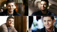 "Dean's ""I hate you"" smile. Click the link the blog has some great ""Dean Faces"" <3 #Supernatural"