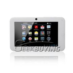 Actions ATM7013 1.2GHz Android 4.0 Tablet PC Resistive Screen White $59.59