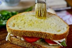 Grilled Margherita Sandwiches-6