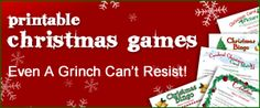 Printable Christmas Games#Repin By:Pinterest++ for iPad#